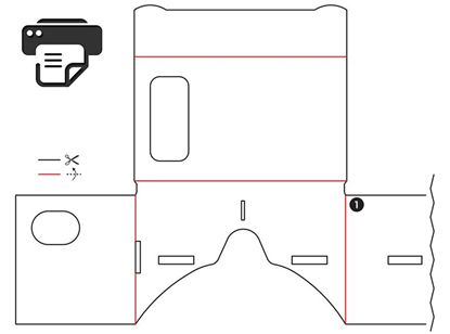 Picture of Google Cardboard Bản in v1.0