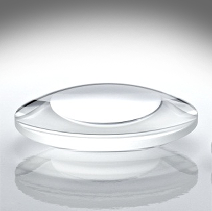 Picture of 1 Pair of Biconvex Lenses 45mm