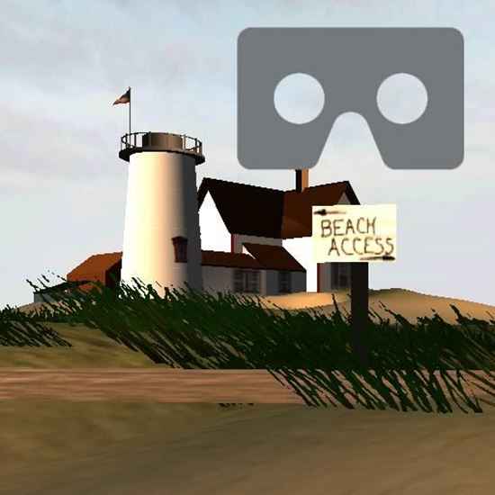 Picture of Beach for Google Cardboard