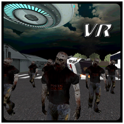 Zombie Alien Hunter VR の画像
